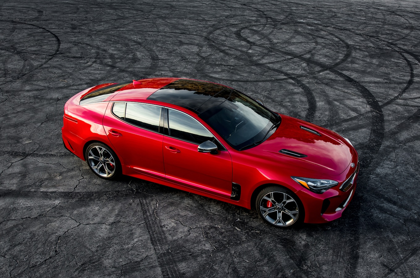 2021 kia stinger red color update  changes  redesign